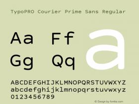 TypoPRO Courier Prime Sans