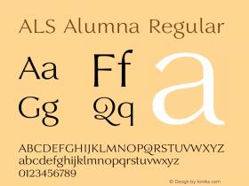 ALS Alumna