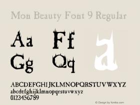 Mon Beauty Font 9
