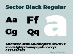 Sector Black