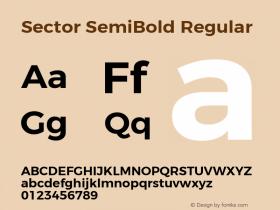 Sector SemiBold
