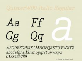 Quister-Italic