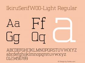IkiruSerif-Light