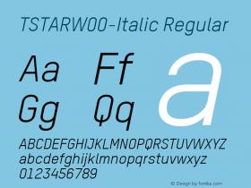 TSTAR-Italic