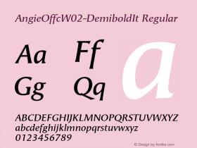 AngieOffc-DemiboldIt