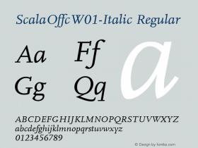 ScalaOffc-Italic