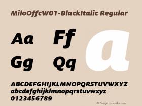 MiloOffc-BlackItalic