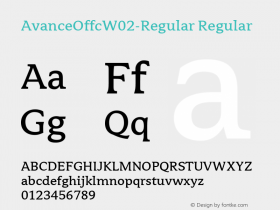 AvanceOffc-Regular