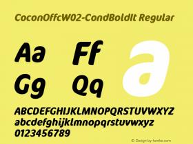 CoconOffc-CondBoldIt