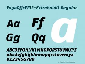 FagoOffc-ExtraboldIt