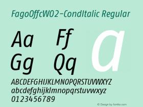 FagoOffc-CondItalic