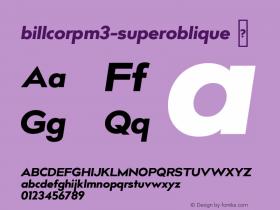billcorpm3-superoblique