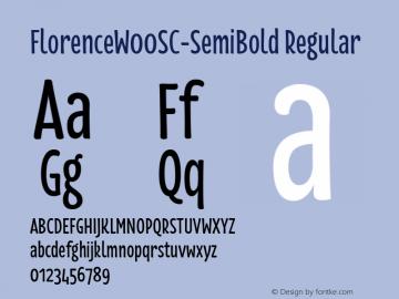 FlorenceSC-SemiBold