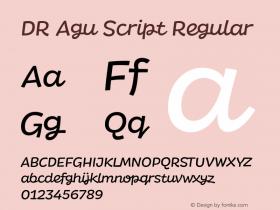 DR Agu Script