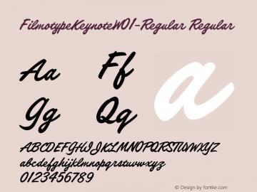 FilmotypeKeynote-Regular