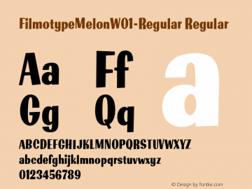 FilmotypeMelon-Regular
