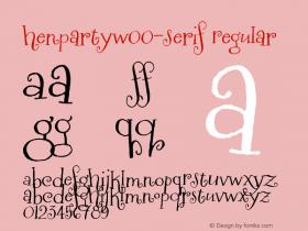 Henparty-Serif