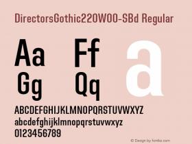 DirectorsGothic220-SBd