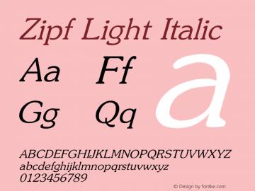Zipf Light
