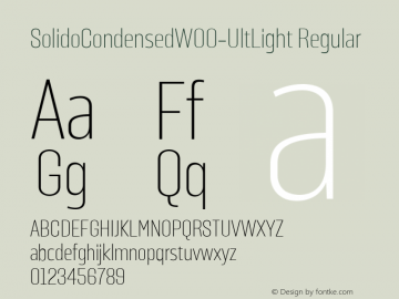 SolidoCondensed-UltLight