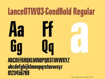 LanceOT-CondBold