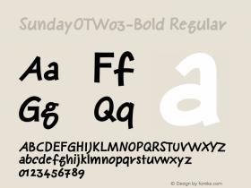 SundayOT-Bold