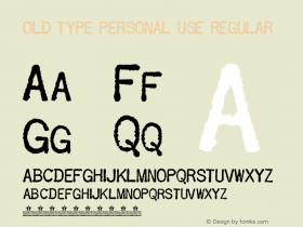 OLD TYPE