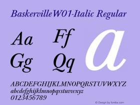 Baskerville-Italic