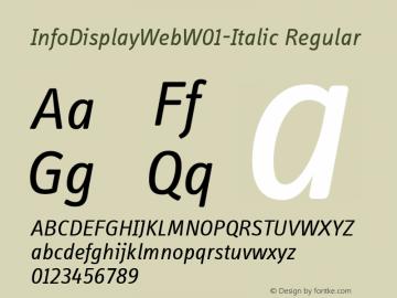 InfoDisplayWeb-Italic