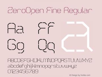 ZeroOpen Fine