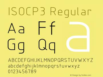 ISOCP3