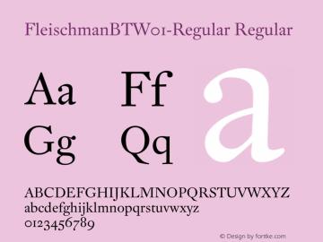 FleischmanBT-Regular