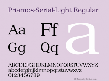 Priamos-Serial-Light