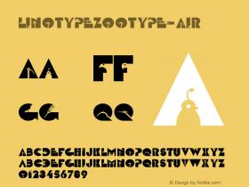 LinotypeZootype-Air
