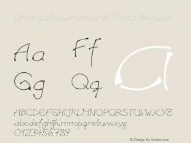 LinotypeSalamander-Rg