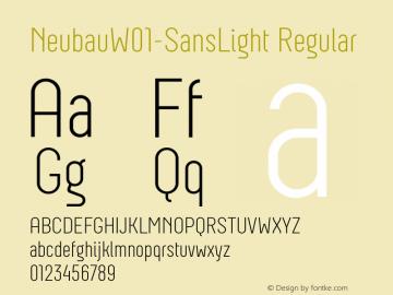 Neubau-SansLight