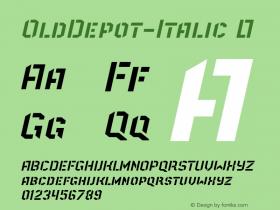 OldDepot-Italic