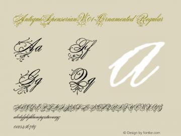 AntiqueSpenserian-Ornamented