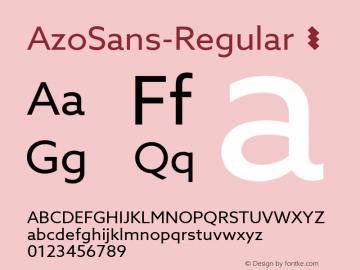 AzoSans-Regular