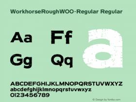 WorkhorseRough-Regular