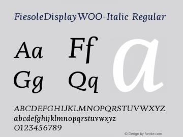 FiesoleDisplay-Italic