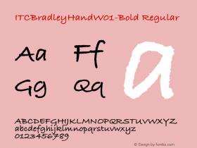 ITCBradleyHand-Bold
