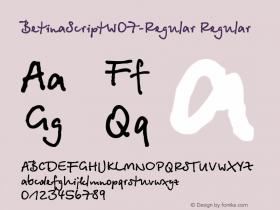 BetinaScript-Regular