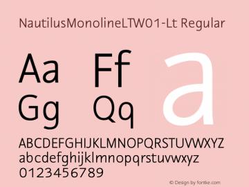 NautilusMonolineLT-Lt
