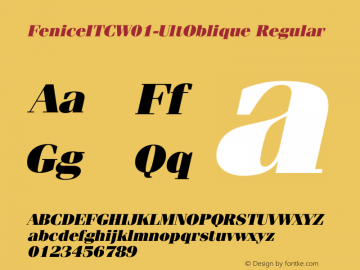 FeniceITC-UltOblique
