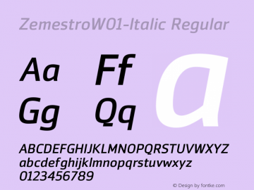 Zemestro-Italic