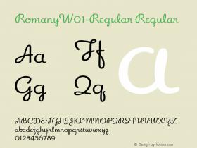 Romany-Regular
