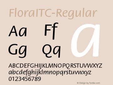FloraITC-Regular