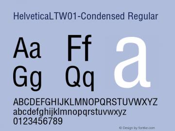 HelveticaLT-Condensed
