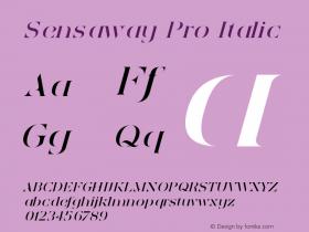 Sensaway Pro